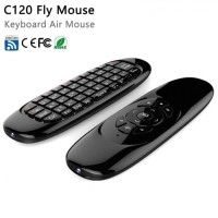 Mini C120 2.4G Wireless 6-Axis Gyroscope Air Mouse Remote Keyboard TV