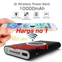WIRELESS POWERBANK 10000MAH POWER BANK IPHONE X XR XS MAX S7 S8 NOTE 9
