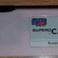 Supercard Lite Rumble Nintendo NDS Lite NDS Fat