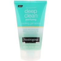 Neutrogena Deep Clean Purifying Cooling Gel Scrub 119 gr