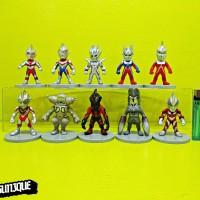 Action Figure Ultraman 10 chibi Series Orb DarkSeven Legend