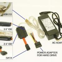 Kabel Converter USB To SATA Notebook IDE Adapter USB to IDE Sata