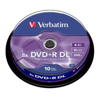 DVD+R Verbatim Double layer / DVDR Double layer 8x CB10