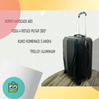 Koper travel murah roda 4 ukuran 22 inch Robert Ansell ABS Hardcase