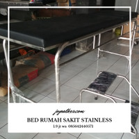 bed periksa stainless
