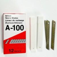 ISI CUTTER KENKO A-100 MATA PISAU KATER ORIGINAL BUKAN JOYKO BOX