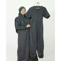 WATER DRESS BLACK HIJAB ALILA / ALILA GOODS / BAJU RENANG SYAR'I