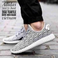 4d96e2f57 Sepatu Casual Pria Wanita Adidas Yeezy Boost 350 Black Pirate Import