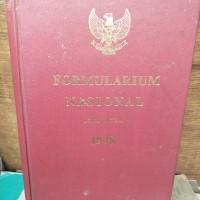 Buku formulanium nasional. ori