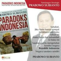Buku paradoks Indonesia