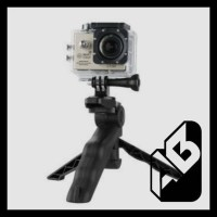 TERLARIS 2 IN 1 TRIPOD MULTI FUNGSI/ TONGSIS/ ACTION CAM/ GOPRO/XIAOMI