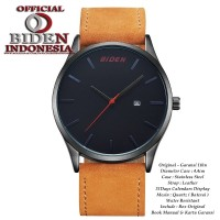 ... Jam Tangan Pria Biden Original 0041 Coklat Hitam