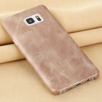 AJ01 Original Leather Samsung Galaxy Note 5 Cover Hard Case x Level