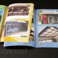 Buku Album pagar teralis pintu canopy balkon railling tangga.