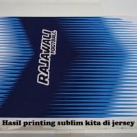 Jasa Print Sublim ukuran 60 cm x 85 cm di kertas sublim 75 gsm