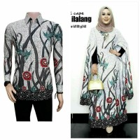 baju couple batik gamis maxi cape 5 batik sarimbit baju keluarga
