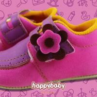 6675Sepatu Bayi - Prewalker - Perempuan - Happy Baby - Penny - Pink