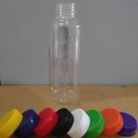 botol almond plastik 250 ml / jus susu 250ml murah PET