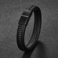 Gelang Kulit Pria / Gelang Cowok / Bracelet Men - High Quality Leather