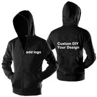 Jaket Pria Import Custom Hoodie Zipper dengan Harga Murah Kaus Wanita