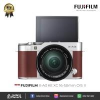 NEW - Fujifilm X-A3 Kit XC 16-50mm OIS II - Gudang Kamera Malang