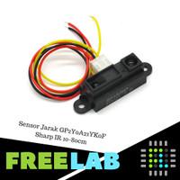 Sensor Jarak GP2Y0A21YK0F Sharp IR 10-80cm Distance Sensor GP2Y0A21