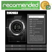 SKMEI Jam Tangan Digital Sporty Pria Pedometer Calorie Compass - 1418