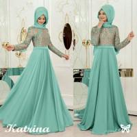 Gamis / Baju / Maxi / Dress Wanita Muslim Katrina