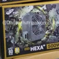 PSU FSP Hexa Plus II 500W 80 Plus power supply