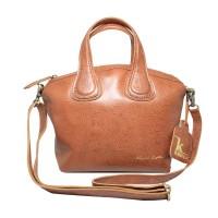 Hand Bag GVNCY Havana Motif -Kenes Leather