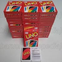 mainan edukasi kartu uno card polos biasa for family fun keluarga
