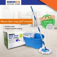 Marco Spin Mop 360° Rotated / Alat Pel Lantai