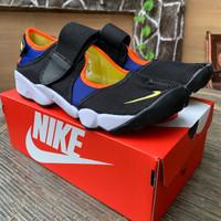 8d417c3d2 Nike Ninja Air Rift Black Orange Yellow Blue High Premium Original
