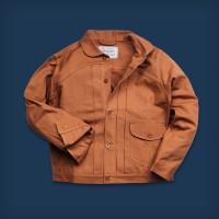 Oldblue Work Jacket Type III - 12 Oz Brown Duck USA 2019
