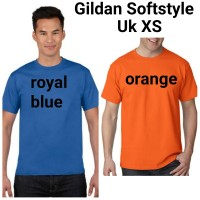 PROMO SALE Khusus XS Kaos Polos Import Gildan Softstyle 63000 Asli