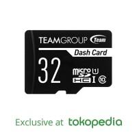 TEAMGROUP Dash Card - Memory Card MicroSD UHS- 32GB + Adapter