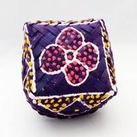 Box mini tempat perhiasan kerajinan dari Bali - besek mini - U2
