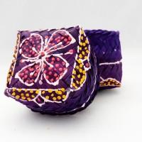 Box mini tempat perhiasan kerajinan dari Bali - besek mini - U1