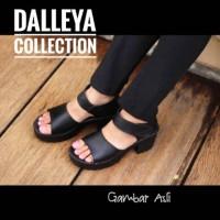 Harga boots hak ankle lilyshoes morymony real pict dalleya sepatu | Pembandingharga.com