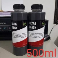 Ultra Black Gel Trim Restorer/Penghitam Trim/Semir mobil motor 500ml