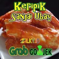 Keripik Kripik Singkong Balado Ubay Sanjay Sanjai Minang Padang Pedas