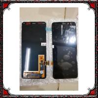 OL.. LCD 1SET SAMSUNG A5 2018 A530F A530 GALAXY A8 2018 ORIGINAL BLACK