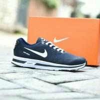 044545bc88aa7 Sepatu Sport Pria Nike Airmax Zoom Grade Ori Biru Navy Dongker Running