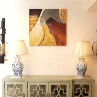hiasan dinding lukisan import hand painted oil art