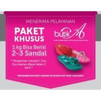 Harga original produk megumi sandal wanita cherry butika | Pembandingharga.com