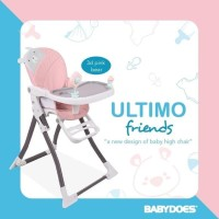 High Chair Baby Does Ultimo Friends - Kursi Makan Anak babydoes