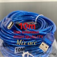 KABEL USB MALE FEMALE 10M / PERPANJANGAN USB / USB EXTENDER EXTENTION
