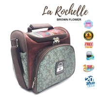 Coolerbag Naimax La Rochelle Brown Flower