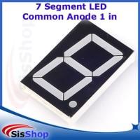 SEGMEN SEGMENT LED DISPLAY 1 DIGIT COMMON ANODE 1 IN 1 INCH 2019