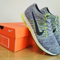 Sepatu Nike Casual / Sneakers Zoom Flyknit Streak 6 (Wolf Grey)